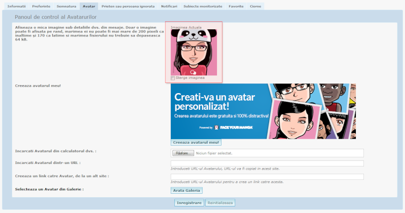 Exclusivitate Forumgratuit: Posibilitatea crearii unui avatar personalizat direct pe forum Adsads10