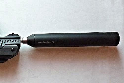 ZORAKI  light : Test entre le silencieux Weihrauch  et le SKM standard . Weihra10