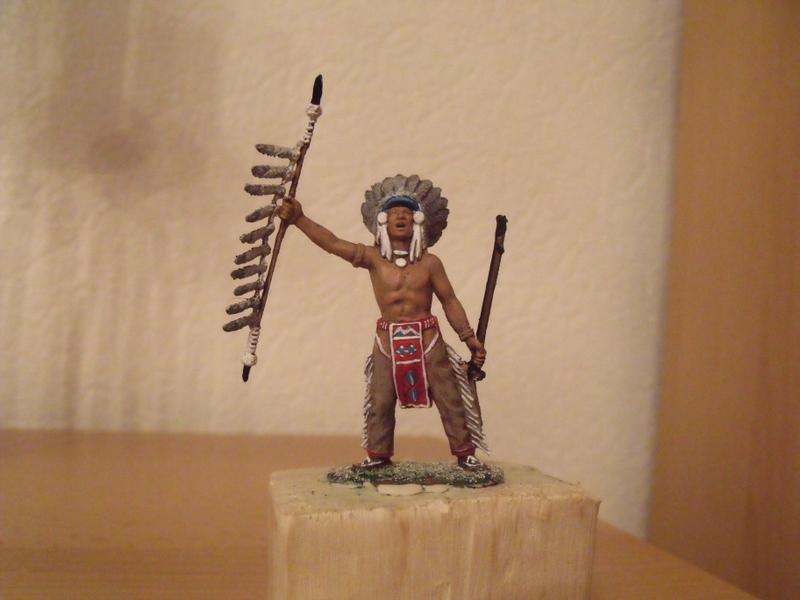 indianer häuptling  ca 7-8 cm Dscf1834