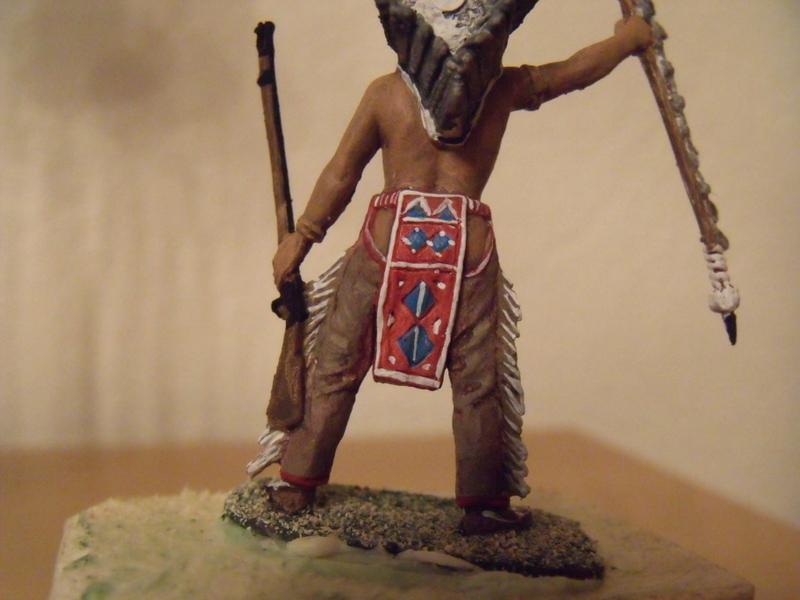 indianer häuptling  ca 7-8 cm Dscf1835
