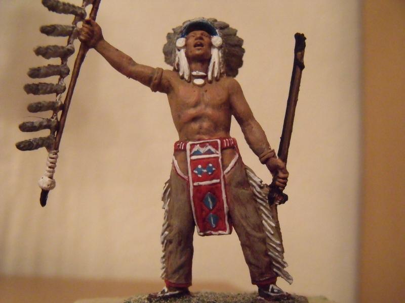 indianer häuptling  ca 7-8 cm Dscf1836