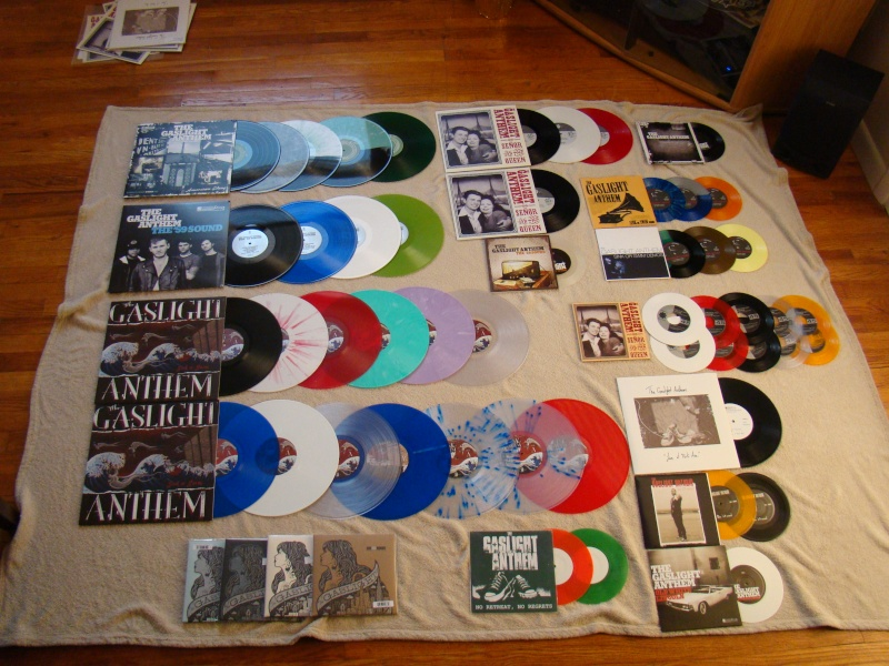 Selling my Gaslight vinyl  07412