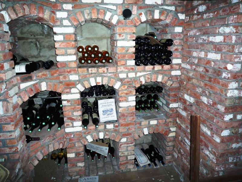 Caves à vin faite de récup 1610