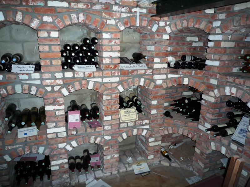 Caves à vin faite de récup 1710