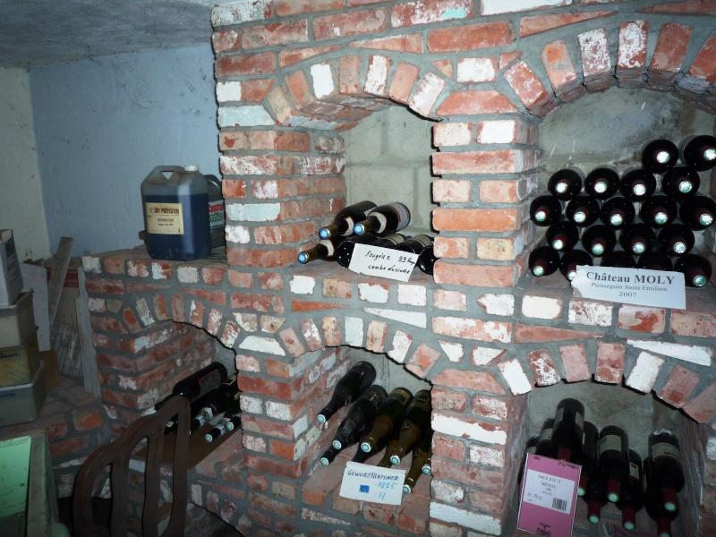 Caves à vin faite de récup 1810