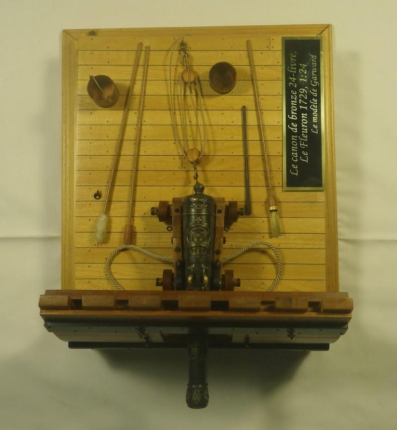 Le canon de bronze de 24 livres du Fleuron 1729, 1/24 (exposition de trois modèles) Imgp1528
