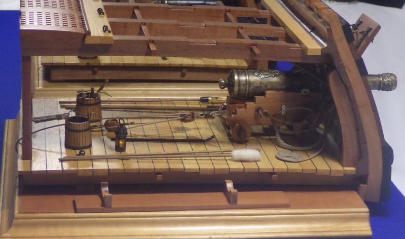 Le canon de bronze de 24 livres du Fleuron 1729, 1/24 (exposition de trois modèles) Imgp1530