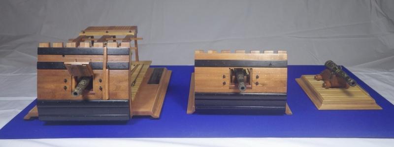 Le canon de bronze de 24 livres du Fleuron 1729, 1/24 (exposition de trois modèles) Imgp1531