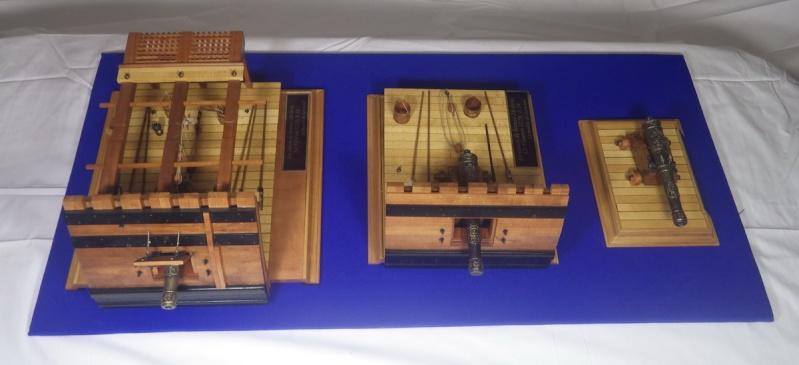 Le canon de bronze de 24 livres du Fleuron 1729, 1/24 (exposition de trois modèles) Imgp1532