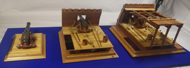 Le canon de bronze de 24 livres du Fleuron 1729, 1/24 (exposition de trois modèles) Imgp1539