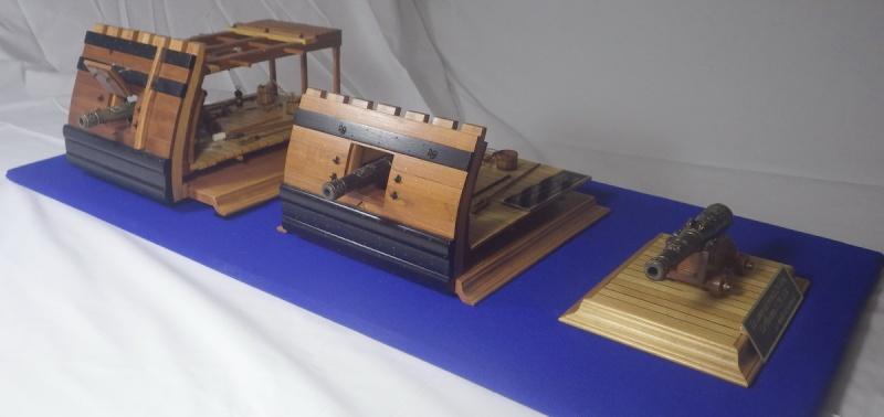 Le canon de bronze de 24 livres du Fleuron 1729, 1/24 (exposition de trois modèles) Imgp1541