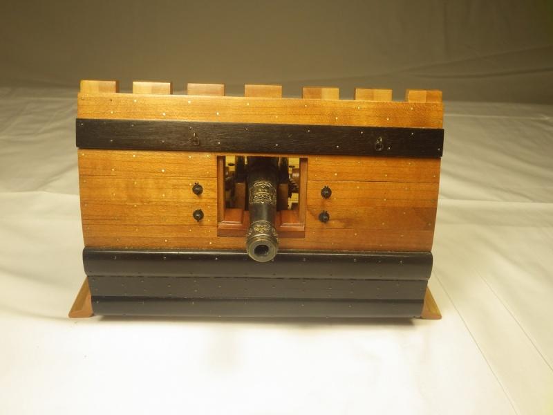 Le canon de bronze de 24 livres du Fleuron 1729, 1/24 (exposition de trois modèles) Imgp1610