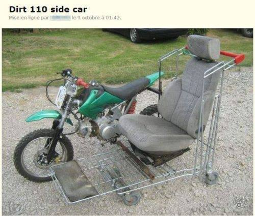 Nouveau side adaptable sur toute moto. Side10