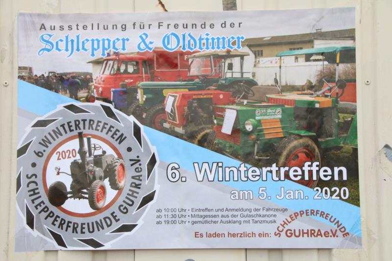 6. Wintertreffen der Schlepperfreunde Guhra  05.01.2020 Trekke39