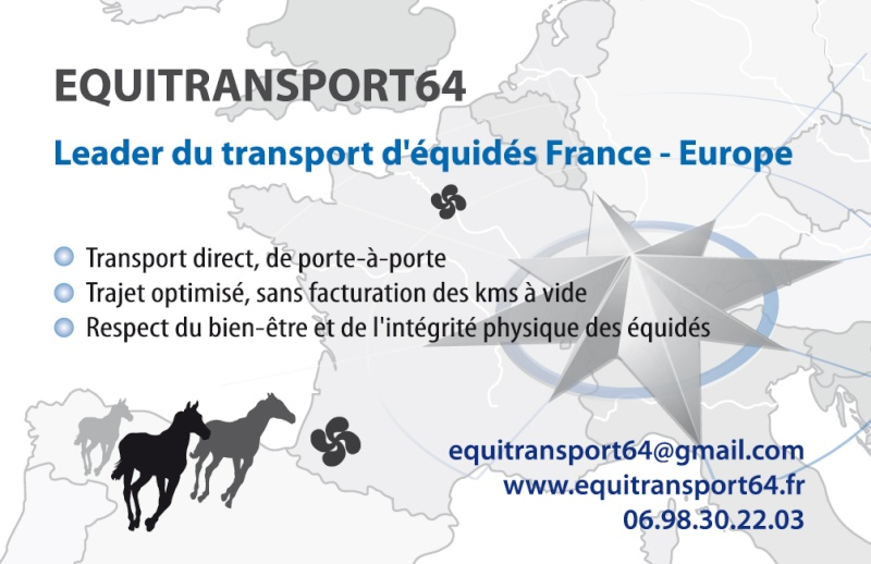 EQUITRANSPORT64: Leader du transport de chevaux Carte_10