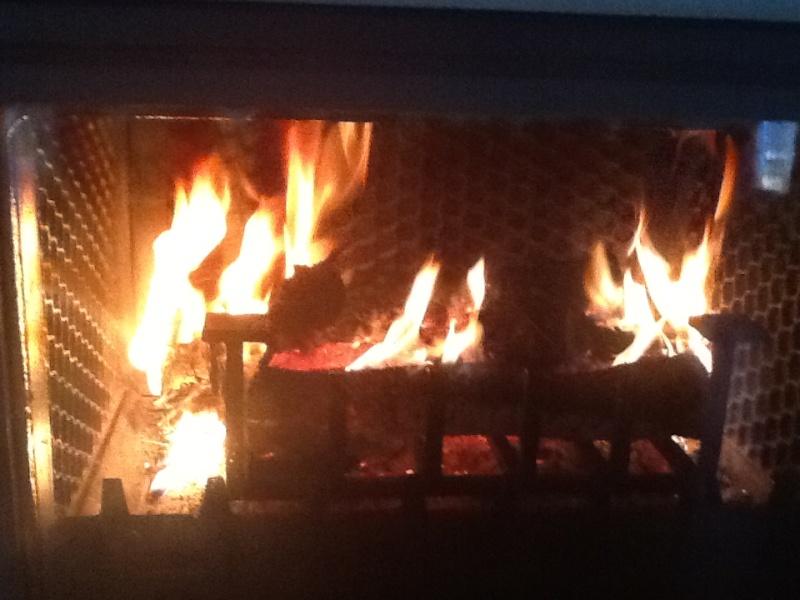Un bon feu  Img_0610