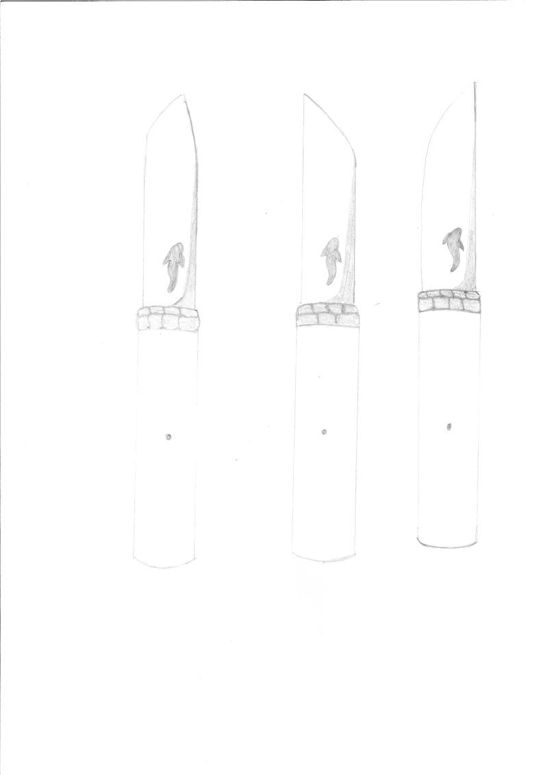 mes couteaux - Page 3 Projet11