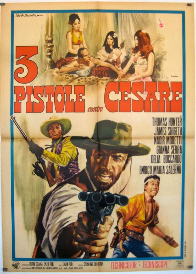 Trois pistolets contre César - Tre Pistole contro Cesare - 1966 - Enzo Peri 3-pist10