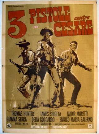 Trois pistolets contre César - Tre Pistole contro Cesare - 1966 - Enzo Peri 3-pist11