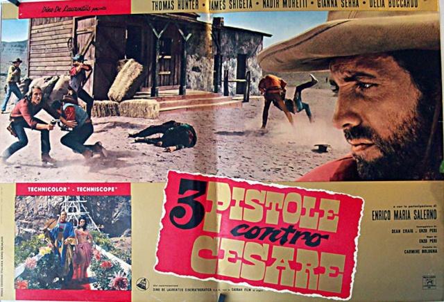 Trois pistolets contre César - Tre Pistole contro Cesare - 1966 - Enzo Peri 3-pist14