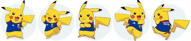 Pokémon als Maskottchen der japanischen Nationalmannschaft 634x1310