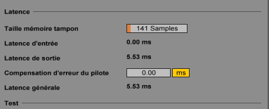 Reduction de latence en entrée Captur14