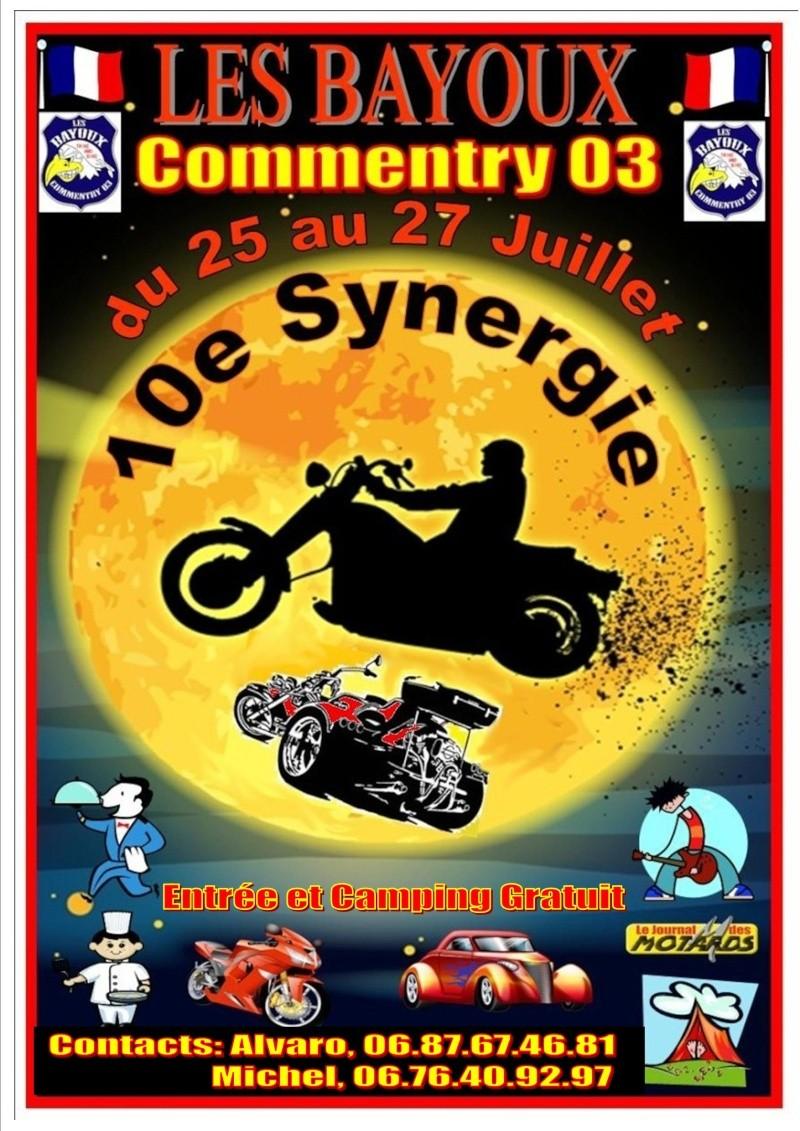 CONCENTRATION - 10e synergie des Bayoux Affich22
