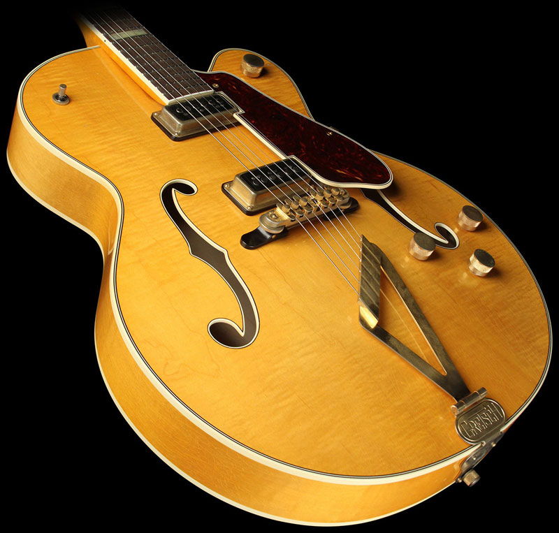 GRETSCH G6192 '53 Electromatic II Relic guitar aged Amber 20431_10