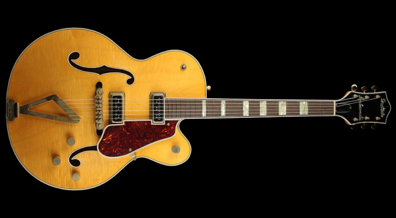 GRETSCH G6192 '53 Electromatic II Relic guitar aged Amber 20431_11
