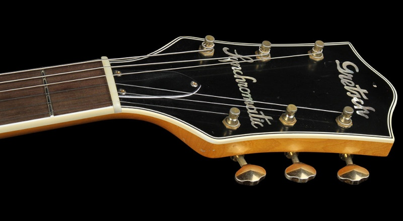 GRETSCH G6192 '53 Electromatic II Relic guitar aged Amber 20431_13