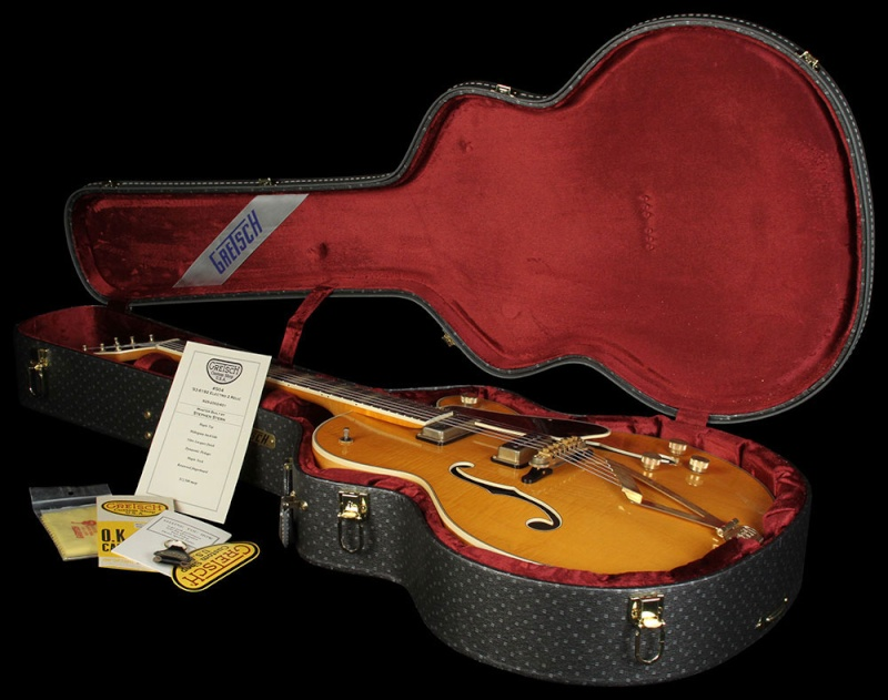 GRETSCH G6192 '53 Electromatic II Relic guitar aged Amber 20431_15