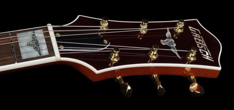 Gretsch CS 6121-55 Electric guitar brown/white Cowhide 20534_12