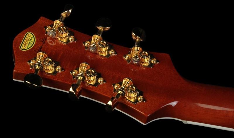 Gretsch CS 6121-55 Electric guitar brown/white Cowhide 20534_13