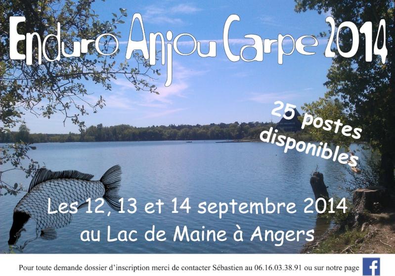 Enduro Anjou Carpe 2014 Affich11
