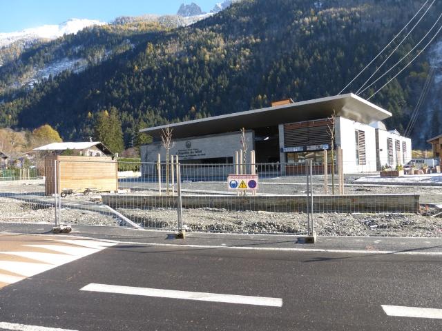 Reconstruction de la gare aval du téléphérique de l'aiguille du midi P1000410