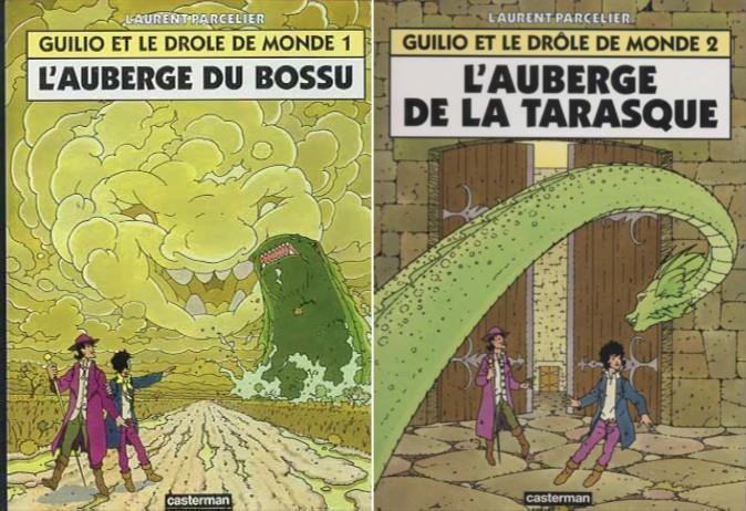 La Malédiction des sept boules vertes [Bande dessinée] Guilio11
