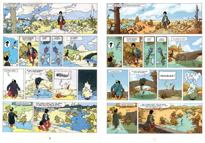 La Malédiction des sept boules vertes [Bande dessinée] Planch12