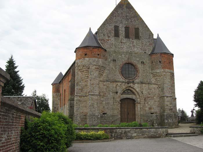 Une église de mon ancienne région ( la Thièrache ). 55_mar10
