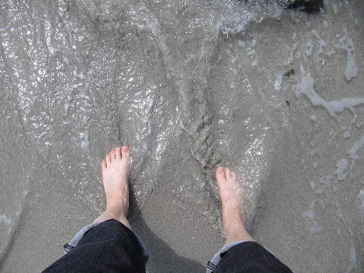 On a mis les pieds dans l'eau et on vous le prouve !! Bretag12