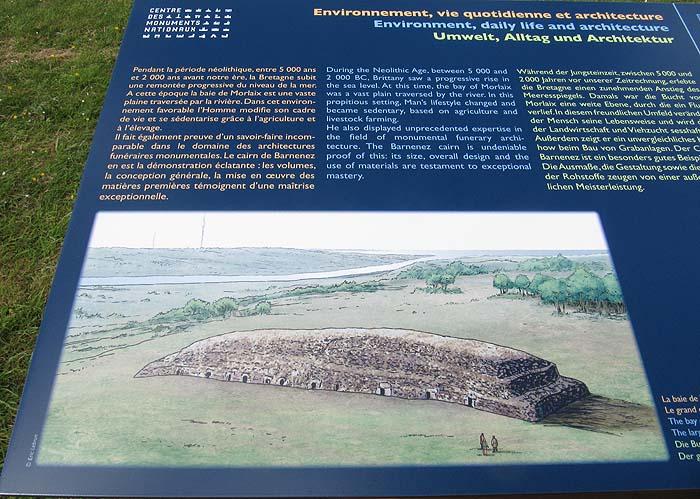 Cairn de Barnenez [Plouezoc'h- 29] Cairn610