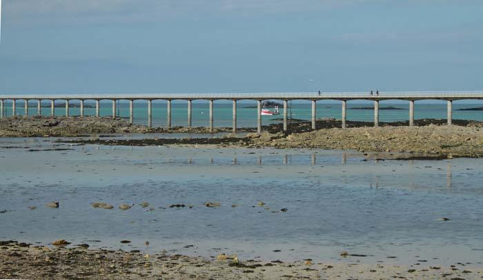 Roscoff, la jetée du débarcadère de l'île de Batz Roscof12