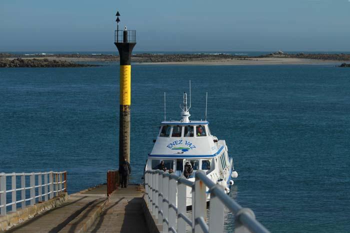 Roscoff, la jetée du débarcadère de l'île de Batz Roscof16