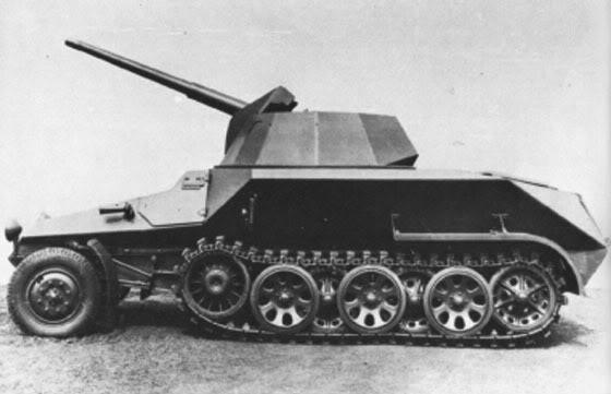 Semi chenillé: Panzer Selbstfahrlafette II 7,5 cm Kan. L/41 auf Zgkw.5t HKP902 Hl_kl_11