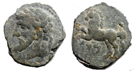 Ma collection de monnaie numide .( Massinissa Micipsa) - Page 4 Massin10