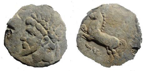 Ma collection de monnaie numide .( Massinissa Micipsa) - Page 4 Massin12