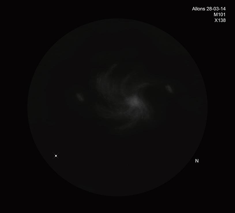 Ciel profond de printemps M10110