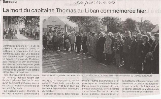 Sarzeau Morbihan - DRAKKAR - Hommage aux 58 parachutistes mort pour la France Sarzea10