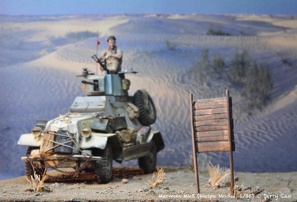Marmon Herrington Mk3 dans le désert... Finalisation du diorama Marmon11