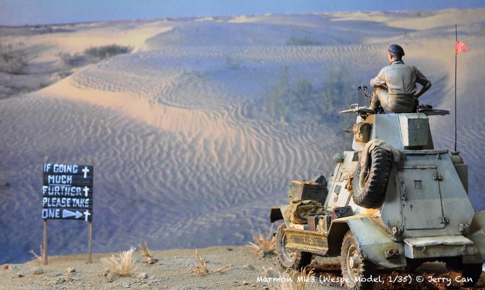 Marmon Herrington Mk3 dans le désert... Finalisation du diorama Marmon12