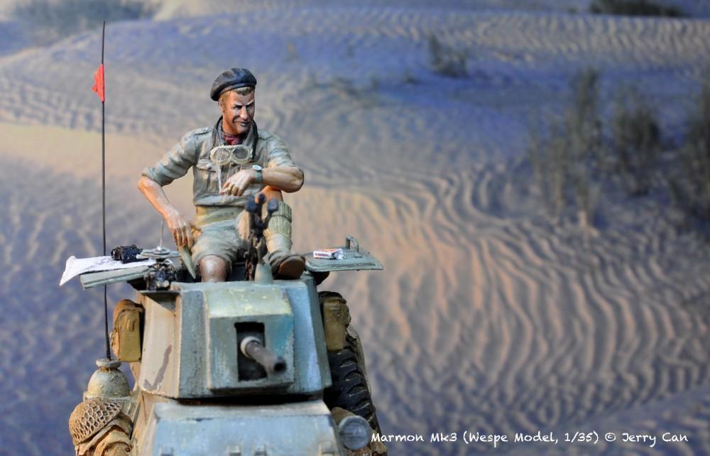 Marmon Herrington Mk3 dans le désert... Finalisation du diorama Marmon13